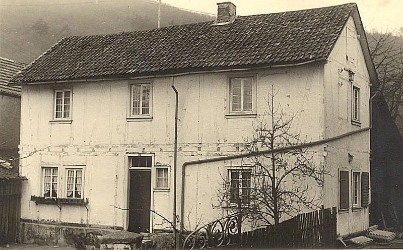 Elternhaus von Peter Buhr, Aufnahme von ca. 1930