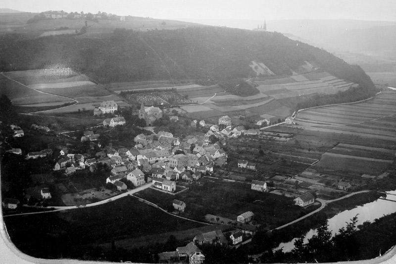 Der Ort um 1900