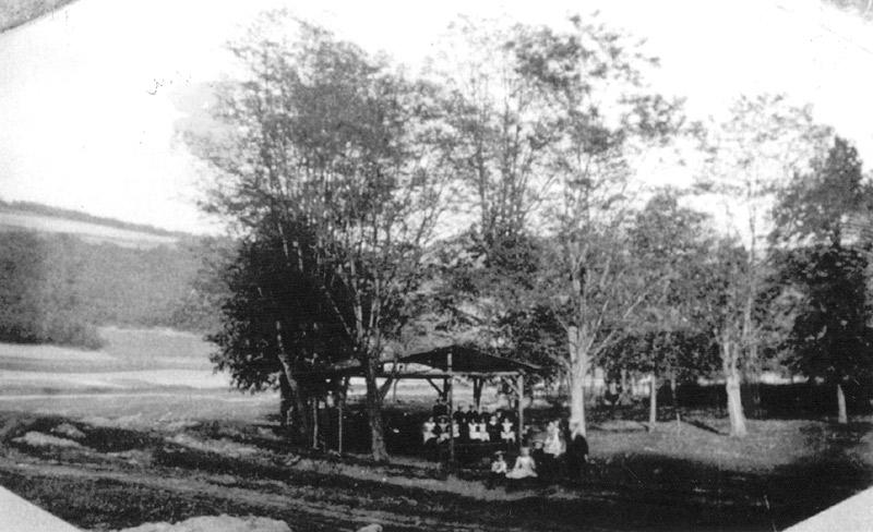Alter Schiessplatz am Steinkümpel um 1900 (heute Campingplatz Verkehrsbverein)