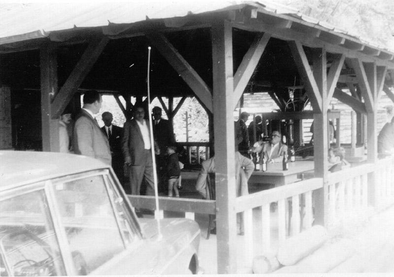Erster Schießstand auf Katzenschleife 1963