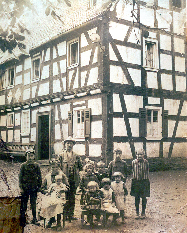 Familie Josef Scheid um 1928