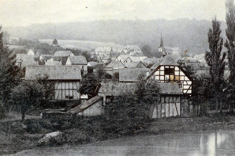 Scheid's Mühle um 1910