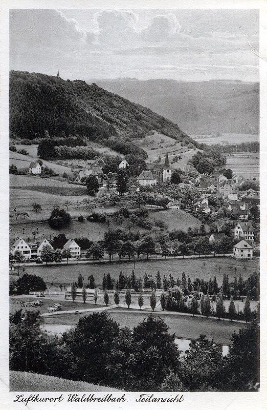 Hotel Elisenruh mit Strandbad 1940
