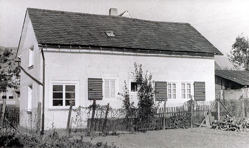 Haus Hopp um 1952
