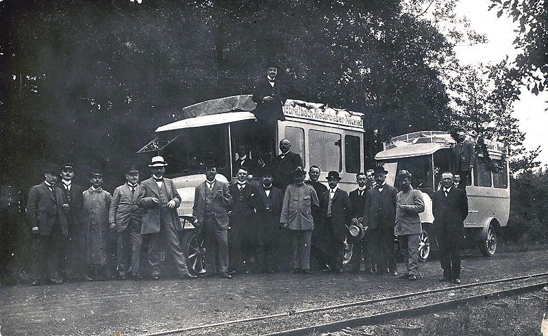 Kraftwagen-Gesellschaft Waldbreitbach um 1920