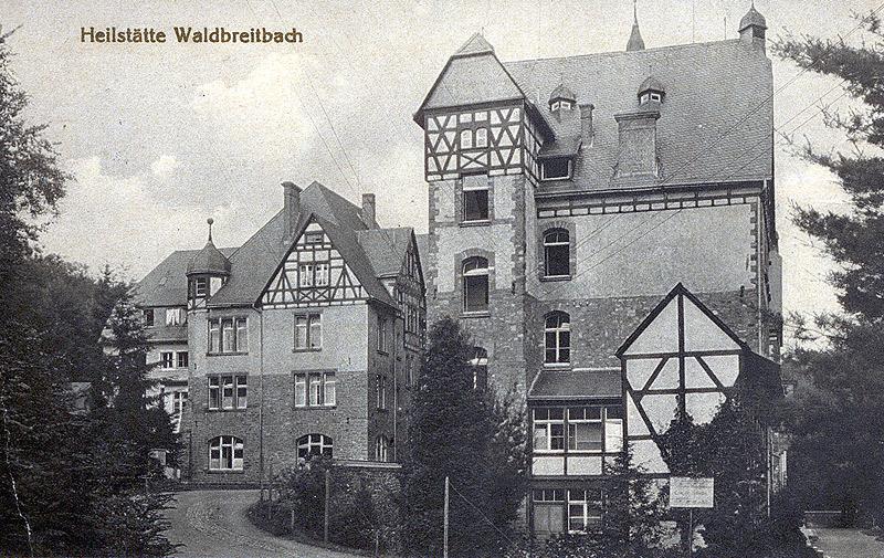 Lungenheilstätte 1940 (heute Westerwaldklinik)