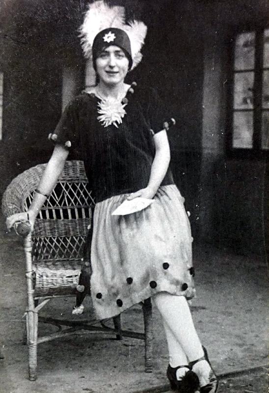 Karneval 1930 - Gertrud Pütz