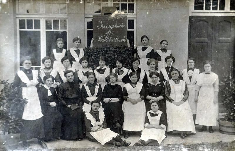 Kriegsküche 1915